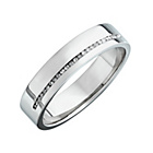more details on Palladium 0.10ct Diamond Wedding Ring.