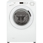 more details on Candy GV148D3W 8KG 1400 Washing Machine- White/Ins/Del/Rec.