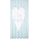 more details on Large Polka Dots Shower Curtain - Blue.