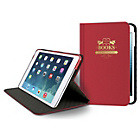 more details on Odoyo Slim Book Folio Case for iPad Mini 3 - Red