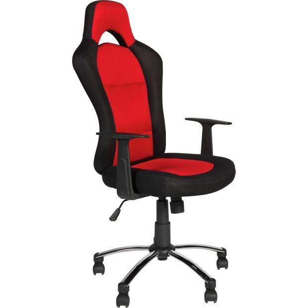 buy gaming height adjustable office chair black and red. Black Bedroom Furniture Sets. Home Design Ideas