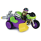 more details on TMNT- Rippin' Rider Motorcycle and Sidecar with Donnie