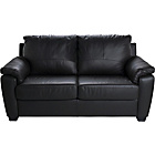 more details on HOME Antonio Leather and Leather Effect Sofa Bed - Black.