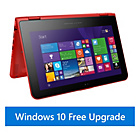 more details on Hewlett Packard 11.6'' 2 in 1 Convertible - Red.