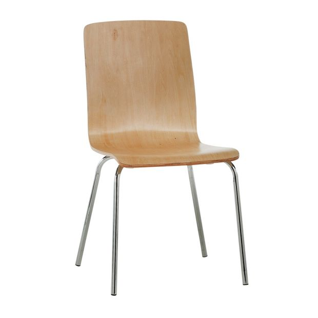 Buy Simple Value Natural Bentwood Dining Chair At Argos.co