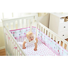 more details on BreathableBaby 2 Cot Sheets - English Garden.