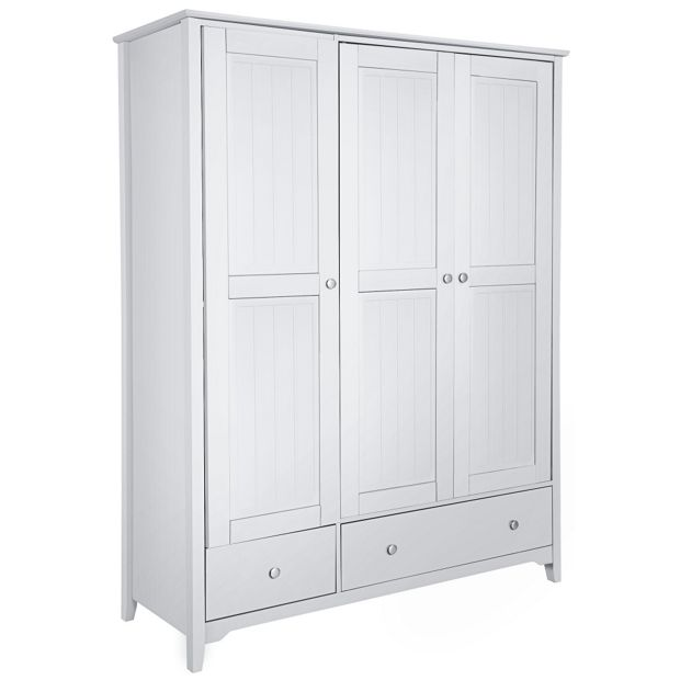 Buy Collection Grafton 3 Door 2 Drawer Wardrobe White At Your Online Shop For