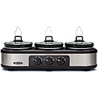 more details on Bella Triple Slow Cooker and Warming Station.