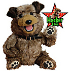 more details on Hacker T. Dog Interactive Puppet.