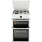 more details on Beko BDVG697WP Double Gas Cooker - White.