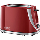 more details on Russell Hobbs Mode 2 Slice Toaster - Red.