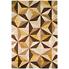 more details on Sapphire Natural and Ochre Rug - 150 x 230cm.