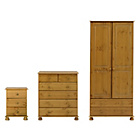 more details on Richmond 3 Piece 2 Door Wardrobe Package.
