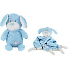 more details on Chad Valley Baby My First Teddy and Comforter Blue.