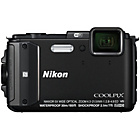 more details on Nikon Coolpix AW130 16MP Compact System Camera - Black.