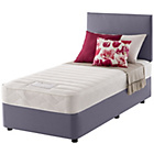 more details on Layezee Calm Memory Micro Quilt Single Heather Divan Bed.