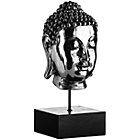 more details on Premier Housewares Silver Buddha Head on Stand.