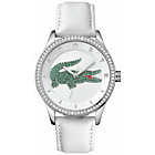 more details on Lacoste Ladies' Victoria White and Green Strap Watch.