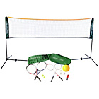 more details on Traditional Garden Games Badminton, Tennis & Volleyball Set.