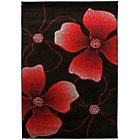 more details on Seasons Red and Black Rug - 80 x 150cm.
