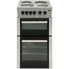 Beko BD533AS Double Electric Cooker - Silver