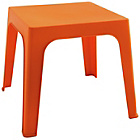 more details on Habitat Darla Plastic Kids Table - Orange.