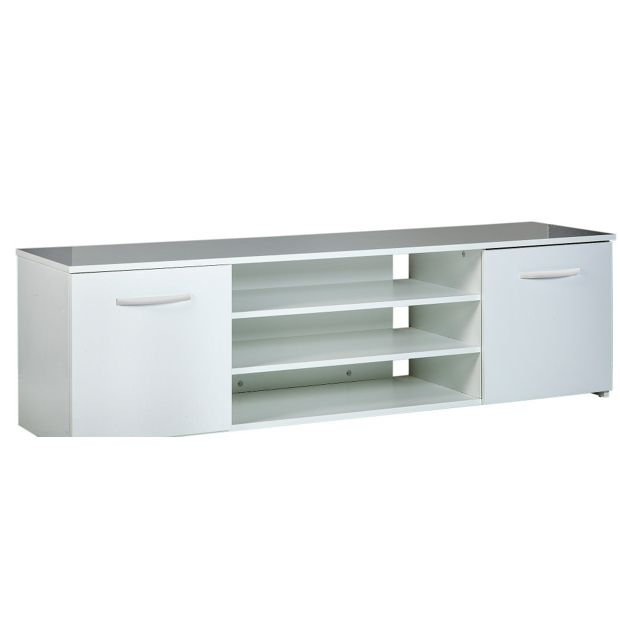 Buy Hayward Wide 2 Door Tv Unit White At Your Online Shop For Entertainment