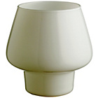 more details on Habitat Lyss Glass Table Lamp - White.