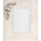 more details on Premier Housewares Chic Natural White Photo Frame.
