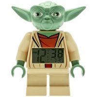 Lego Star Wars Yoda Figure Alarm Clock
