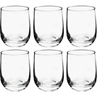 more details on Habitat Joy Set of 6 Tumblers - Clear.