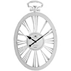 more details on Premier Housewares Skeleton White Metal Wall Clock.