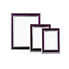 more details on Premier Housewares Set of 3 Purple and Silver Photo Frames.