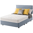 more details on Layezee Calm Micro Quilt Small Double Blue Divan Bed.