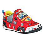 more details on Fireman Sam Boys' Novelty Trainers - Size 7.