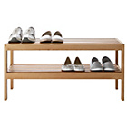 more details on Heart of House Elmley Shoe Rack - Solid Oak.