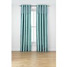 more details on Heart Of House Colette Eyelet Curtains 167 x 182cm- Duck Egg