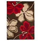 more details on Paradiso Chocolate and Red Rug - 120 x 170cm.