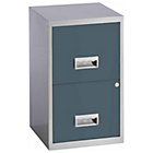 more details on Pierre Henry 2 Drawer Filing Cabinet - Urban Grey.