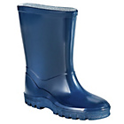 more details on Boys' Basic Blue Welly - Size 10.