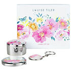 more details on Louise Tiler Compact Mirror with Key Ring and Trinket.