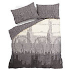 more details on Catherine Lansfield Salvage Duvet Cover Set Twin Pack - King