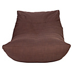 more details on Lounger Chair - Chocolate.