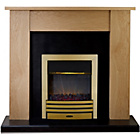 more details on Adam New England 2kW Electric Fire Suite.