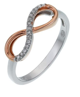 Infinity Ring Sterling Silver Argos
