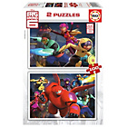 more details on Educa Games Big Hero 6 Puzzles - 2 x 100 Pieces.