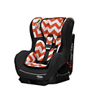 more details on Obaby Group 0-1 Combination Car Seat - ZigZag Orange.