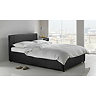 more details on Hygena Harcourt Single Ottoman Bed Frame - Black.