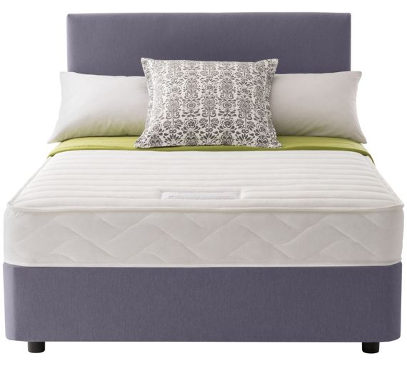 Buy Layezee Calm Memory Micro Quilt Kingsize Divan Bed At Your Online Shop For