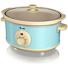 more details on Swan Retro 3.5 Litre Slow Cooker - Blue.